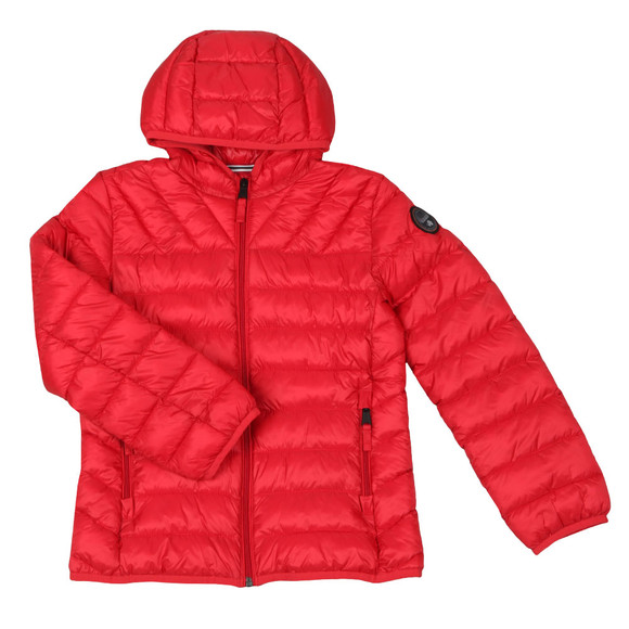 Napapijri Boys Red Aerons Jacket main image