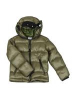 Split Goggle Puffer Jacket