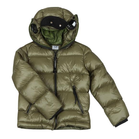 C.P. Company Undersixteen Boys Green Split Goggle Puffer Jacket main image