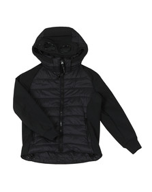 C.P. Company Undersixteen Boys Black Padded Shell Jacket