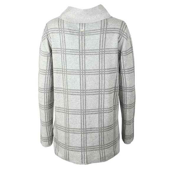 Barbour Lifestyle Womens Grey Annis Knit main image
