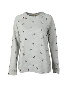 Barbour Lifestyle Womens Grey Bowfell Sweat