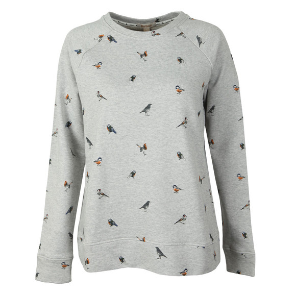Barbour Lifestyle Womens Grey Bowfell Sweat main image