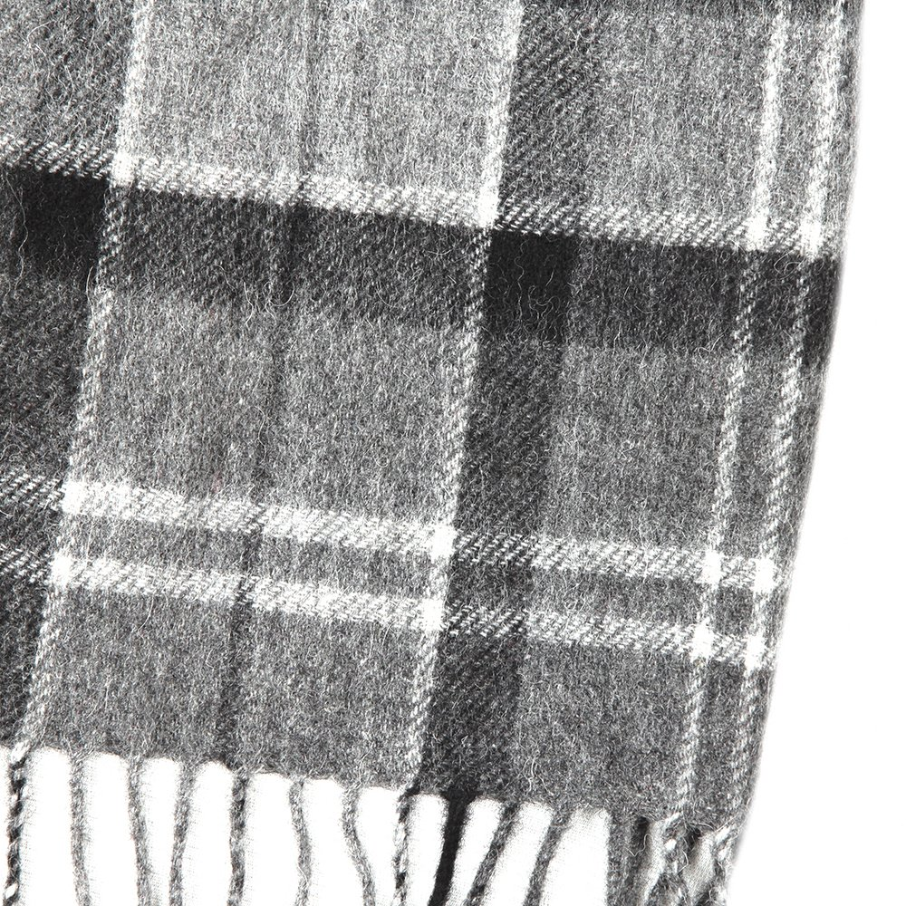 Tartan Lambswool and Cashmere Scarf main image