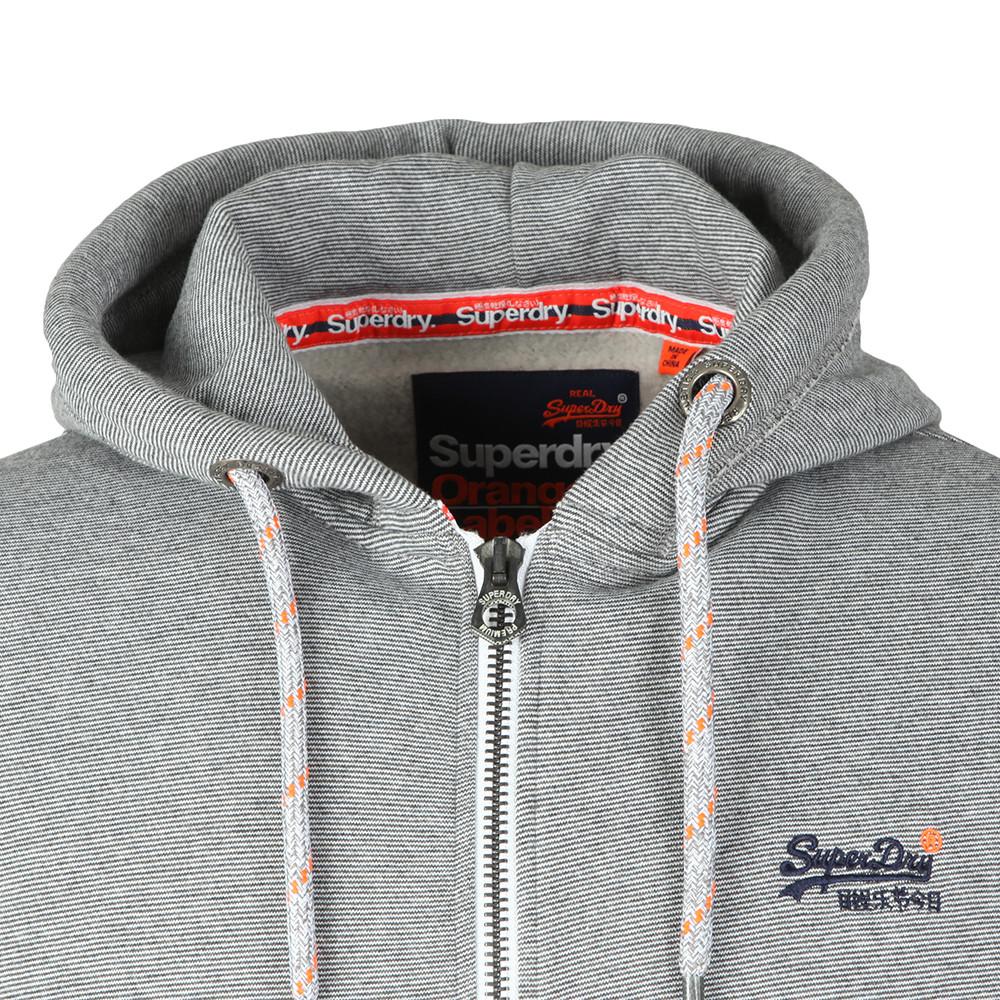 Orange Label Zip Hood main image