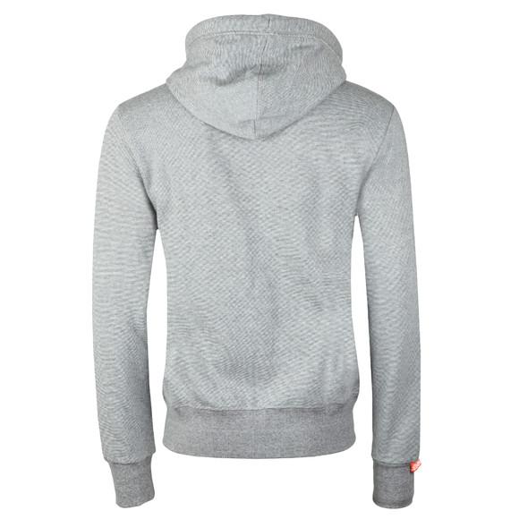 Superdry Mens Grey Orange Label Zip Hood main image