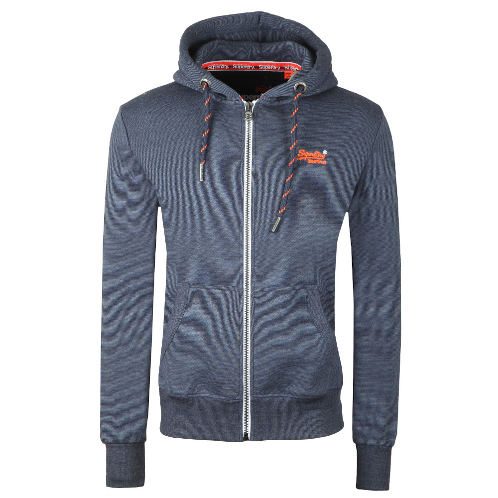 Orange Label Zip Hood main image
