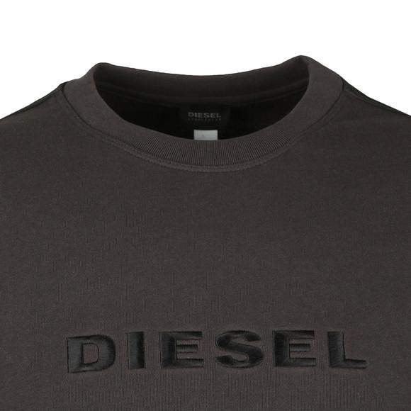 Diesel Mens Grey Willy Crew Sweatshirt main image