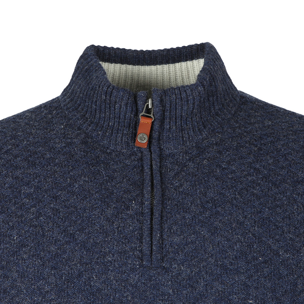 1/4  Zip Funnel Neck Jumper main image