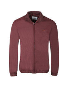 Farah Mens Red Olsen Jacket