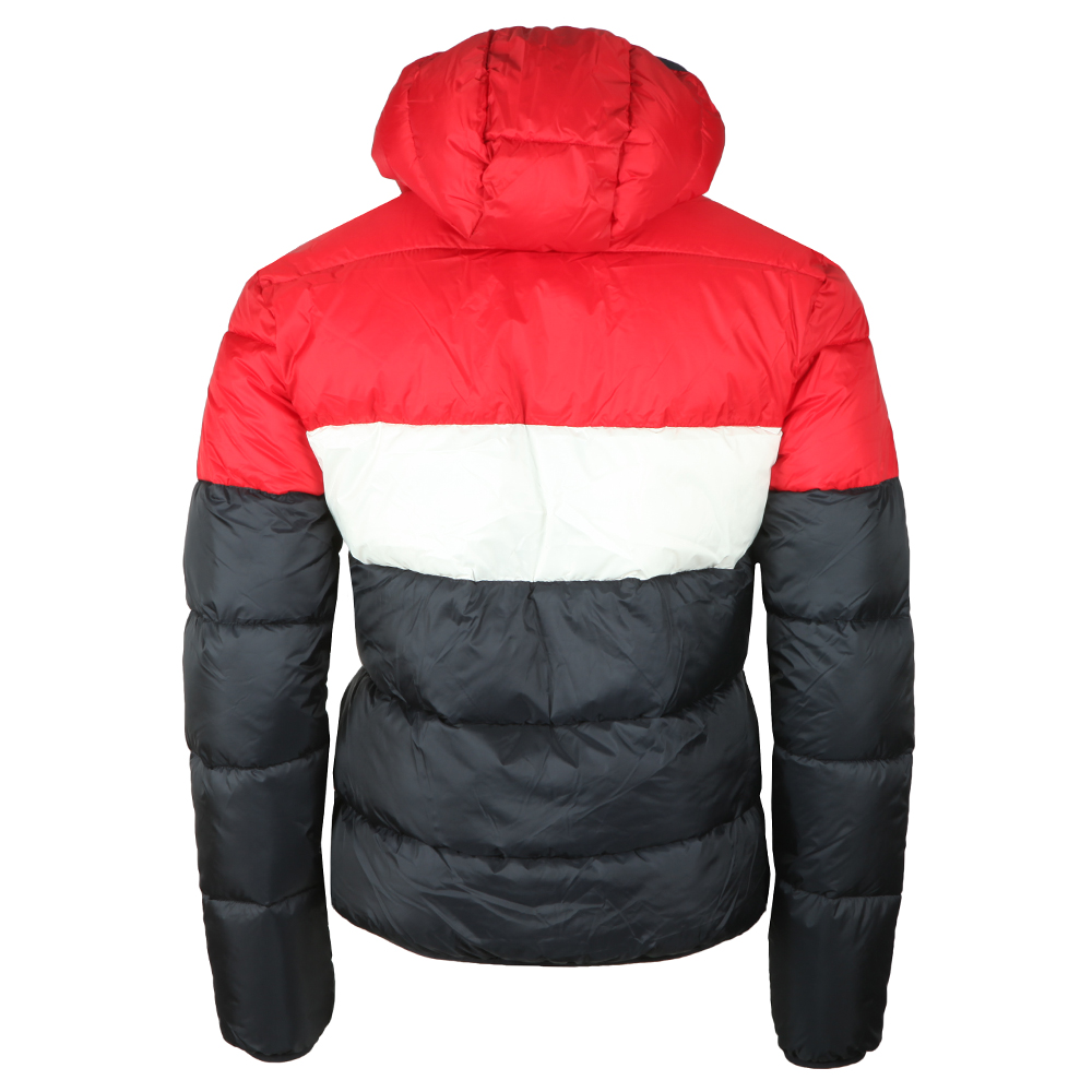 Colour Block Puffa Jacket main image