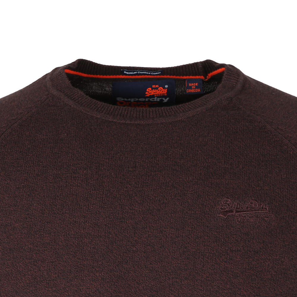 Orange Label Cotton Crew Jumper main image