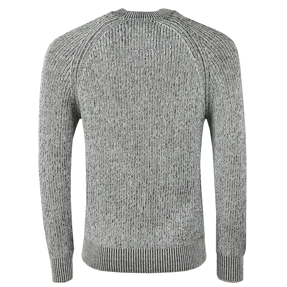 Plated Crew Neck Rib Jumper main image
