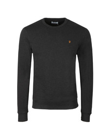 Farah Mens Black Tim Crew Sweat