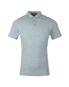 Farah Mens Grey S/S Pendelton Polo