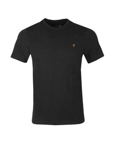 Farah Mens Black Denny Crew T-Shirt
