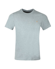 Farah Mens Grey Denny Crew T-Shirt