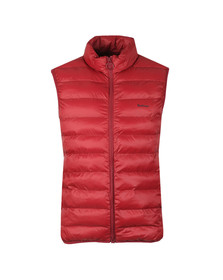 Barbour Lifestyle Mens Red Bretby Gilet