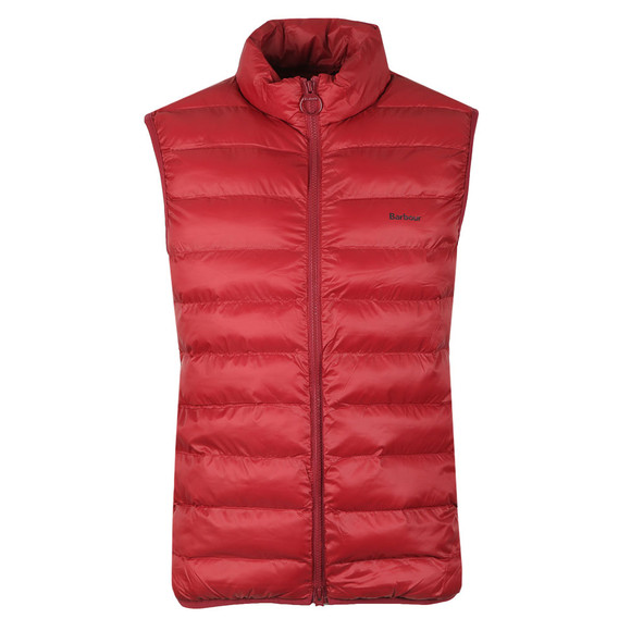 Barbour Lifestyle Mens Red Bretby Gilet main image