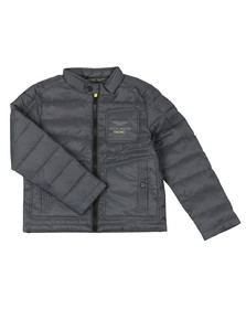 Hackett Boys Grey Boys Aston Martin Racing Padded Jacket