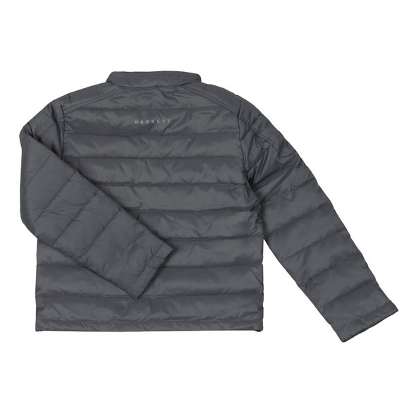 Hackett Boys Grey Aston Martin Racing Padded Jacket