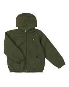 Lyle And Scott Junior Boys Green Padded Cagoule