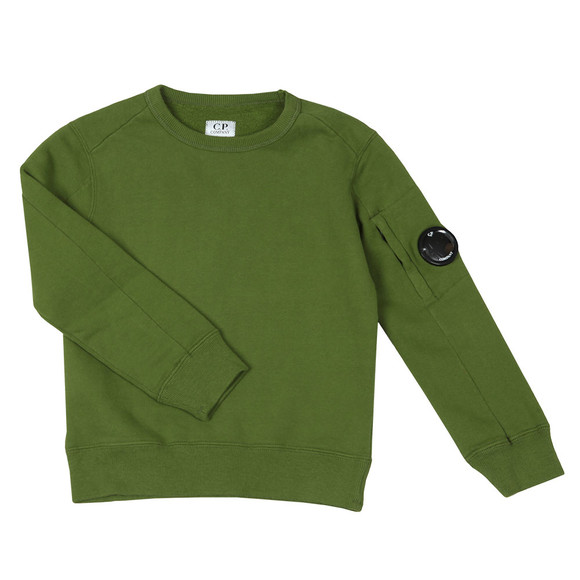 C.P. Company Undersixteen Boys Green Viewfinder Sweashirt main image