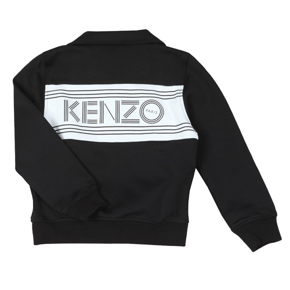 Kenzo Kids Boys Black Large Logo Track Top main image