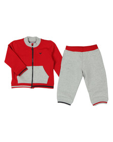 Emporio Armani Baby Boys Red 6ZHV02 Tracksuit