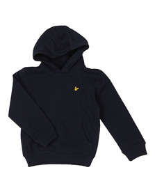 Lyle And Scott Junior Boys Blue Classic Overhead Hoody