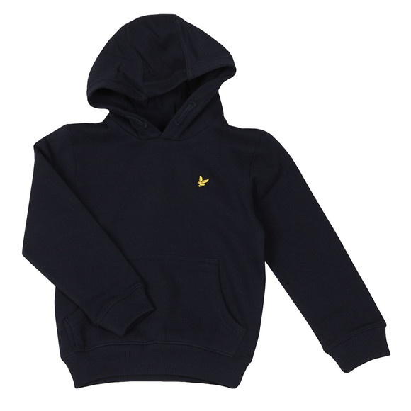 Lyle And Scott Junior Boys Blue Classic Overhead Hoody main image