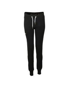 Superdry Womens Black Orange Label Elite Jogger