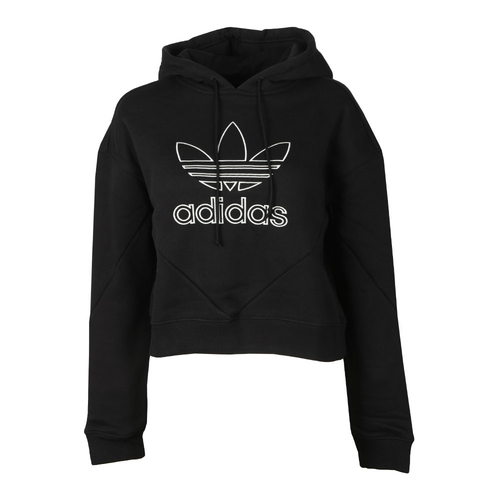 bf4bbce0 adidas Originals Womens Black Colorado Hoody