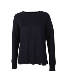 Superdry Womens Blue Bria Raglan Knit