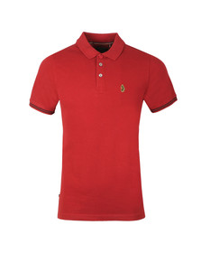 Luke Sport Mens Red New Mead Core Polo