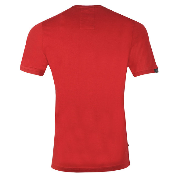 Luke Mens Red Traff Core Crew T-Shirt main image