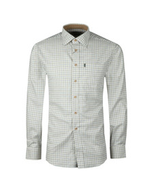 Barbour Lifestyle Mens Blue Field Tattersall LS Shirt