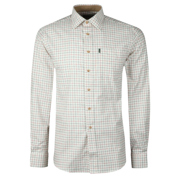 Barbour Lifestyle Mens Red Field Tattersall LS Shirt main image