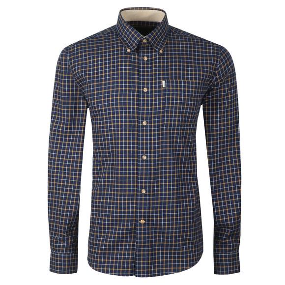 Barbour Lifestyle Mens Blue L/S Bank Shirt main image