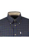 Barbour Lifestyle Mens Blue L/S Bank Shirt