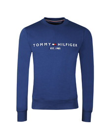 Tommy Hilfiger Mens Blue Logo Sweatshirt