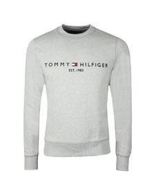 Tommy Hilfiger Mens Grey Logo Sweatshirt