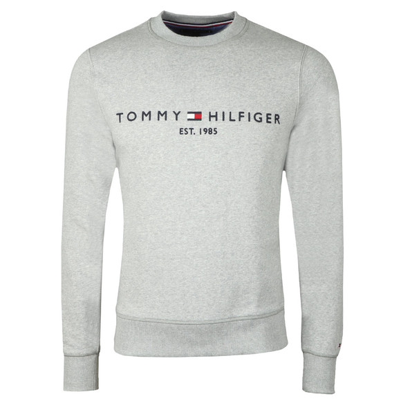 Tommy Hilfiger Mens Grey Logo Sweatshirt main image
