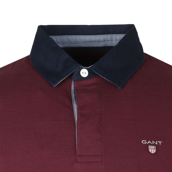 Gant Mens Purple Original Heavy Rugger main image