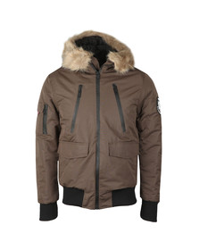 Good For Nothing Mens Brown High Risk Artic Bomber