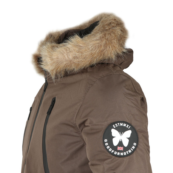 Good For Nothing Mens Brown High Risk Artic Bomber main image