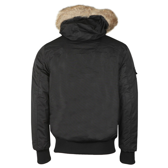 Good For Nothing Mens Black High Risk Artic Bomber main image