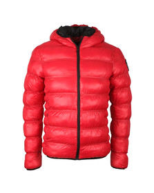 Good For Nothing Mens Red Wet Look Element Jacket
