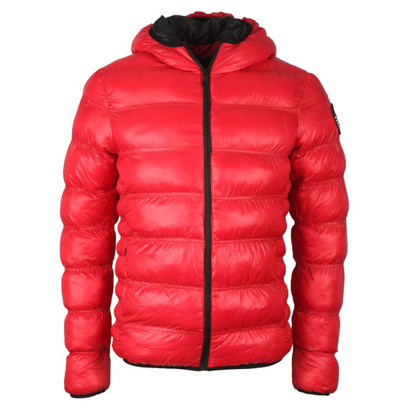 Good For Nothing Mens Red Wet Look Element Jacket main image