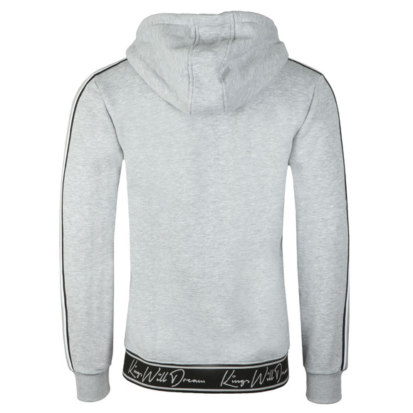 Kings Will Dream Mens Grey Ellerbeck  Full Zip Hood main image
